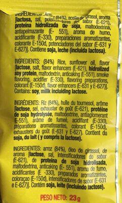 Monchitos Pegui Arroz Inflado 23GR - Ingredients