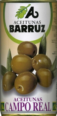 """Aceitunas verdes enteras """"Barruz"""" Variedad Cacereña - Producto"""