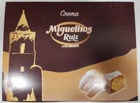 Miguelitos de la Roda con crema - Product - es