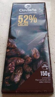 Chocolate extrafino puro 52% cacao