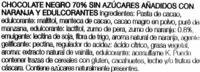 Chocolate negro con naranja edulcorado 70% cacao - Ingredientes - es