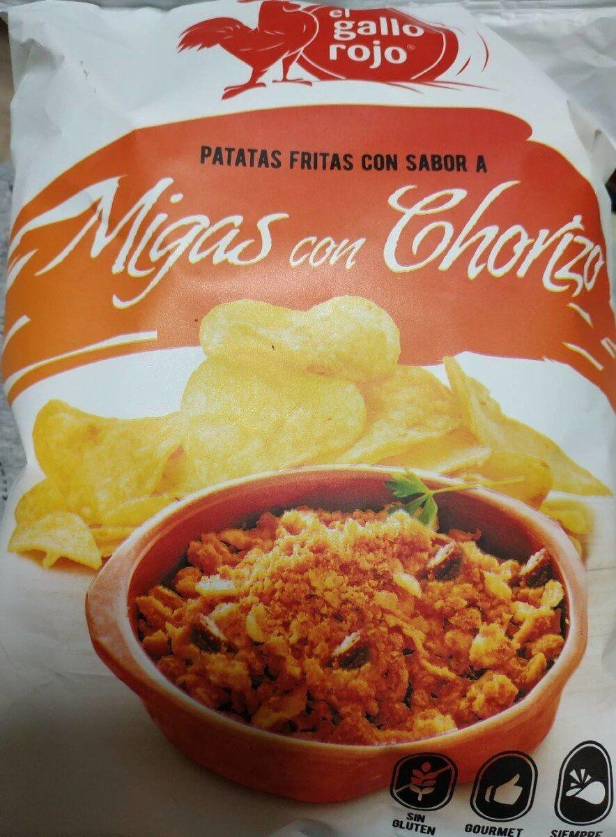Patatas fritas sabor migas con chorizo - Producte - es