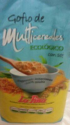 Gofio de multicereales ecolôgico con soja - Product - es