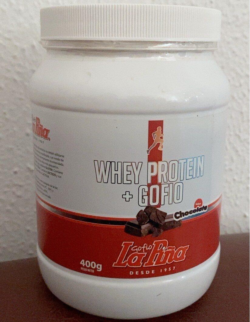 Whey protein + gofio - Product - es