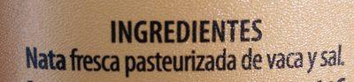 MANTEQUILLA CON SAL IRLANDESA - Ingredients