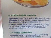 Con flakes - Ingredients - es