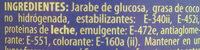 Caroma - Ingredientes - es