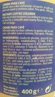 Caroma - Ingredientes