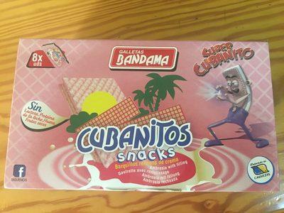 Cubanitos snacks - Producto
