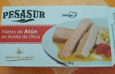 Filets de thon à l'huile d'olive espagnol - Produit - fr