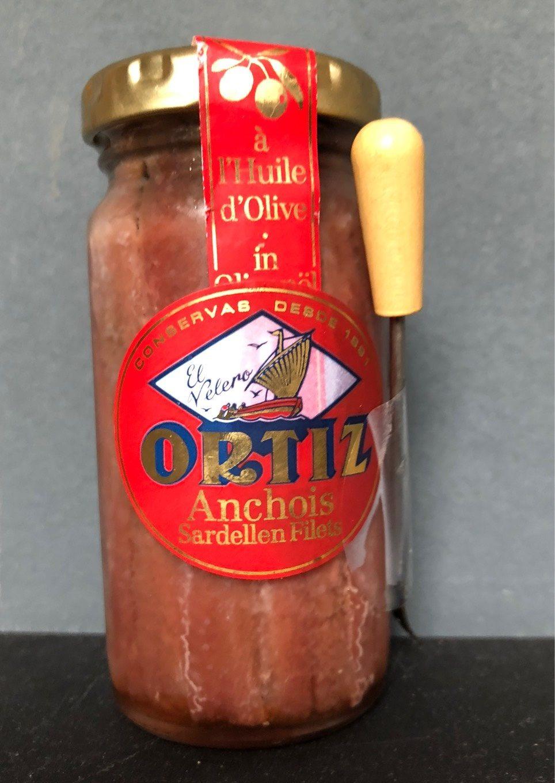 Anchovies In Oil (jar) - Produit - fr