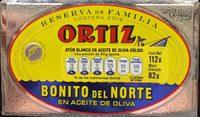 Bonito del norte en aceite de oliva - Product - es