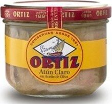 Thon Blanc à L'huile D'olive Ortiz - Produit - fr