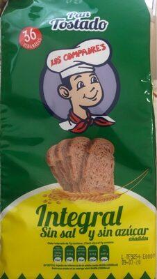 Pan tostado - Producto