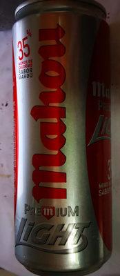 Cerveza Mahou premium Light