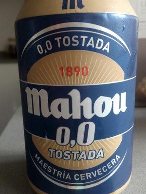 Cerveza mahou 0,0 - Producto