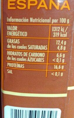 Café molido mezcla - Nutrition facts - es