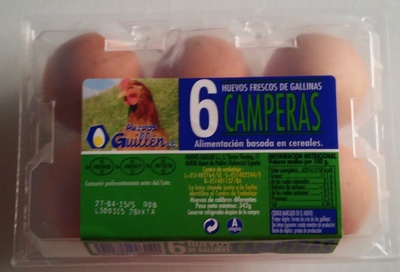 Huevos Frescos de Gallinas Camperas - Product