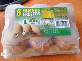 Huevos Frescos - Producto