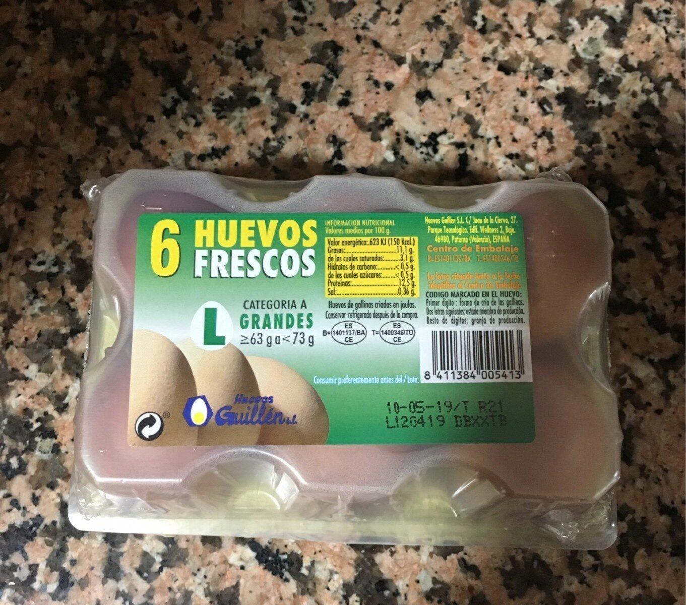 Huevos Frescos - Product - es