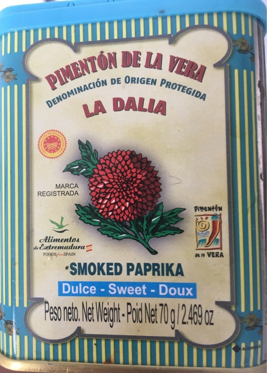 Pimenton De La Vera Dulce Dop (sweet Smoked Paprika) - Produit - fr