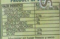Pimenton De La Vera Dulce Dop (sweet Smoked Paprika) - Informations nutritionnelles - fr