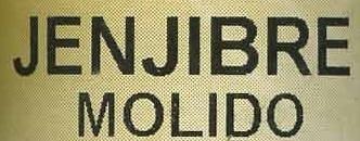 Jengibre molido - Ingrediënten