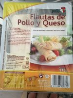Flautas de pollo y queso - Product - en