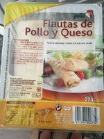 Flautas de jamon y queso - Producto
