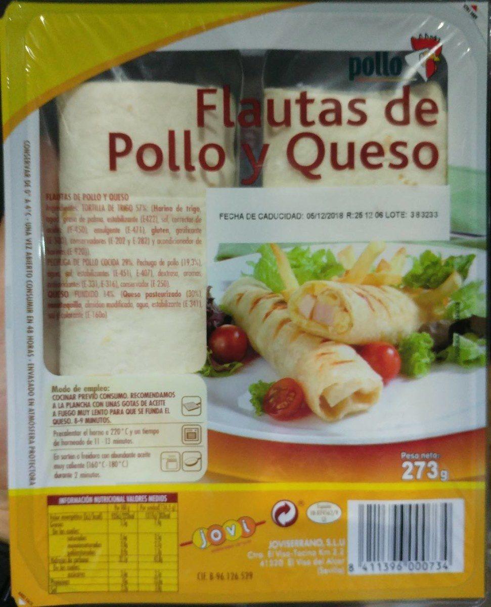 Flautas de pollo y queso - Produit - fr