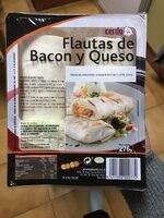 Flauta de bacon y queso - Producte