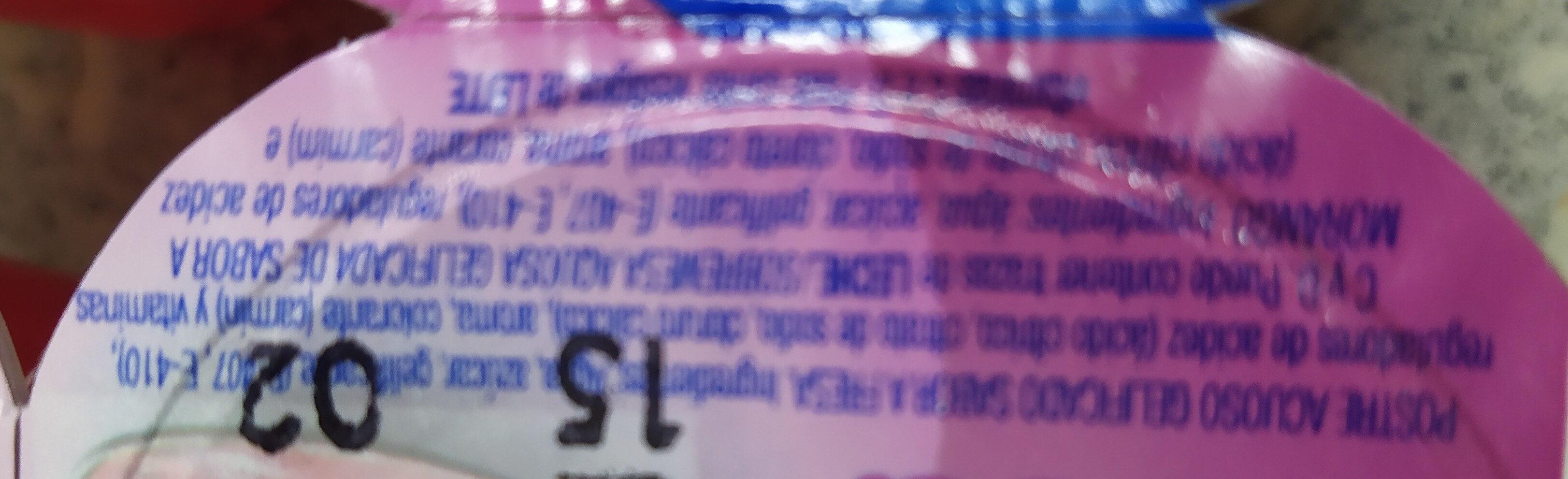 Gelatina Clesa sabor fresa - Ingredienti - es