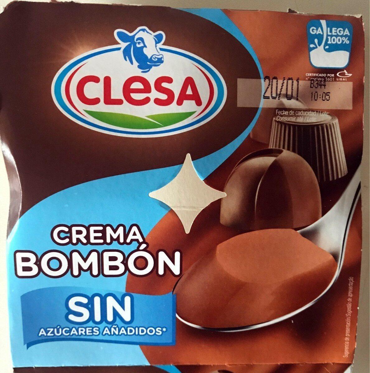 Crema bombón sin azúcares añadidos - Producte - es