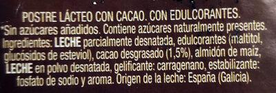 Crema bombón sin azúcares añadidos - Ingredients - es