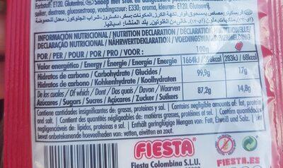 Fresquito cereza - Nutrition facts