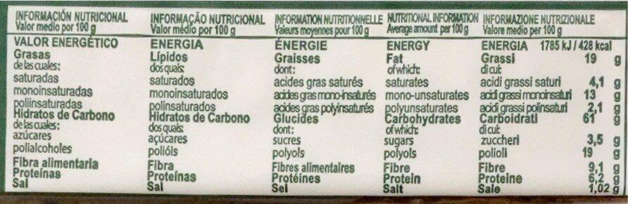 Choco Cookies Sugar Free - Informació nutricional - fr