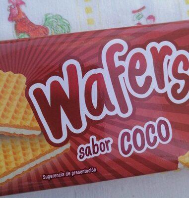 Wafers sabor Coco - Product - en