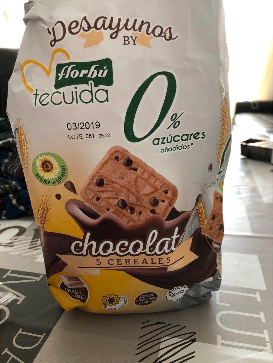 Chocolat 5 cereales - Produit