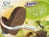 Polos de soja recubiertos con chocolate. Pack de 6 - Producto