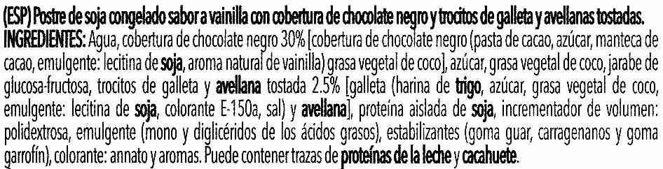 Special Soja bombón crocanti - Ingredientes - es