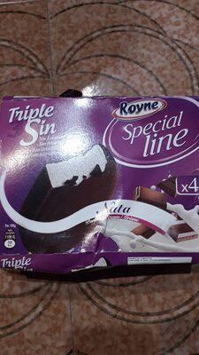Special line bombón helado de nata sin lactosa,
