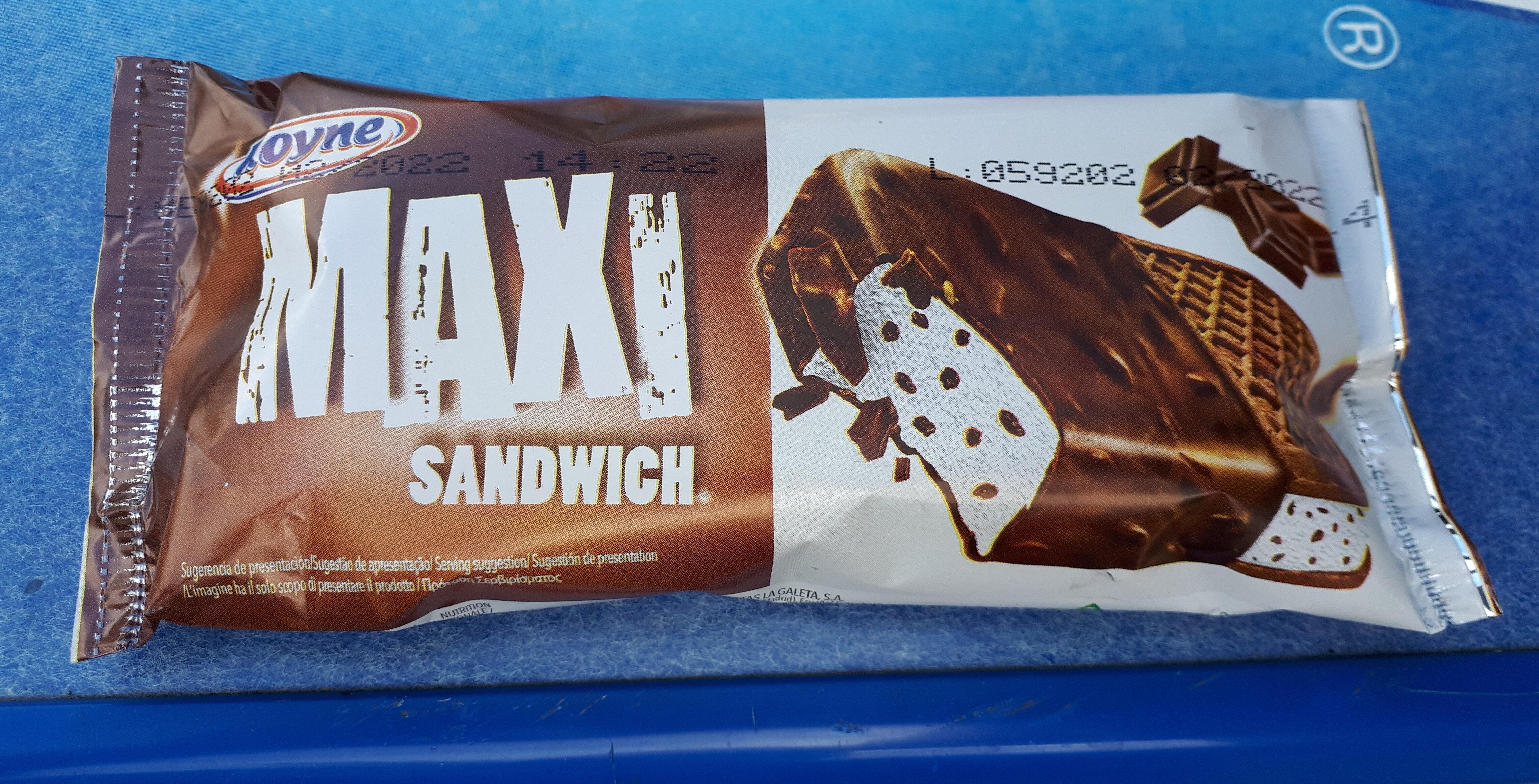 Maxi sandwich - Producte - es