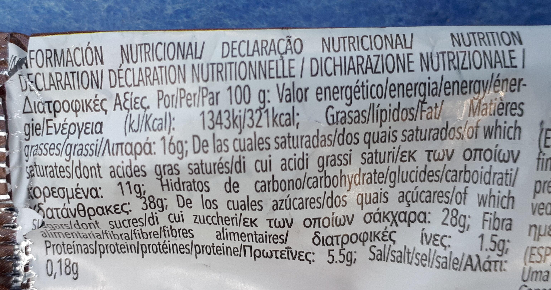 Maxi sandwich - Informació nutricional - es
