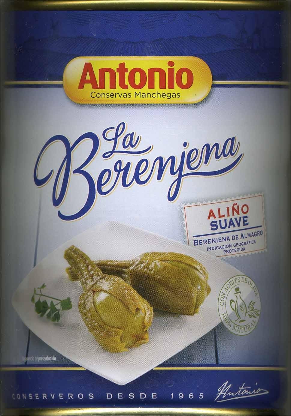 Berenjenas de Almagro con aliño suave lata 420 g - Producto - es