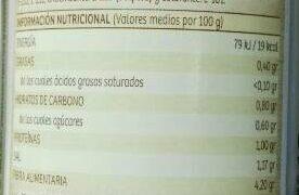 La berenjena - Informació nutricional