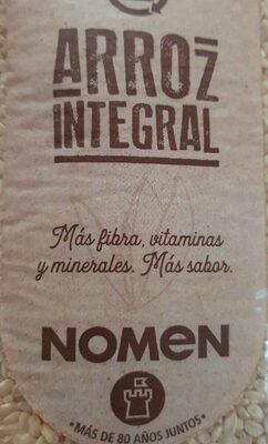 Nomen Arroz Integral - Produkt - es