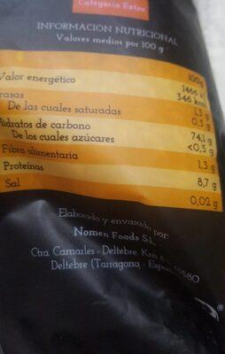 Arroz - Información nutricional - es