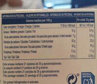 HOJALDRES DE ASTORGA - Informació nutricional - fr