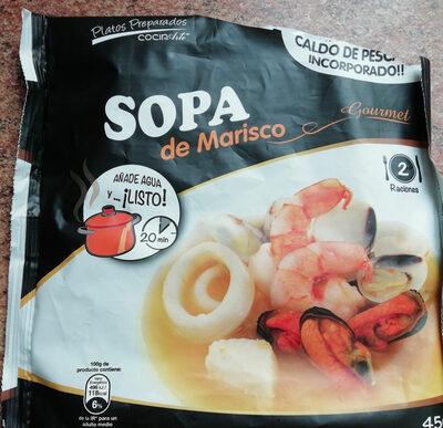 SOPA DE MARISCO - Producto