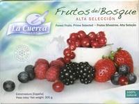 """Mezcla de frutas del bosque congeladas """"La Cuerva"""" - Producte - es"""